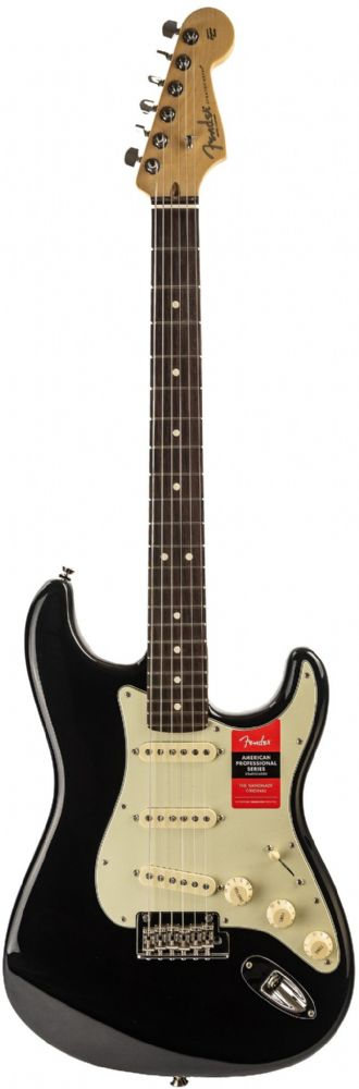 Fender American Pro Stratocaster Black, Rosewood
